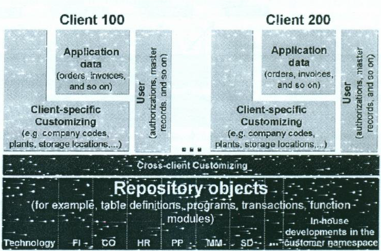 Data Structures of SAP System